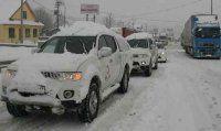 Bolu Dağı Tem Otoyolu trafiğe kapandı