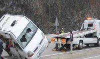 Fethiye'de işçi taşıyan minibüs devrildi, 15 yaralı