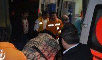 MHP'lileri taşıyan midibüs kaza yaptı
