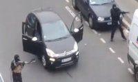 Paris'in göbeğinde silahlı çatışma anları