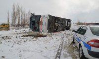 Afyonkarahisar'da otobüs devrildi, 33 yaralı kim?