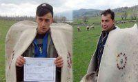 Diplomalı çobanlar iş başında