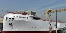 İlk yerli sismik araştırma gemisi, denizle buluşuyor
