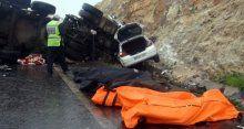 Katliam gibi kazada 13 kişi öldü