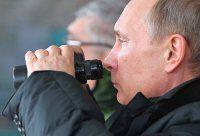 Rusya Devlet Başkanı Vladimir Putin ortaya çıktı
