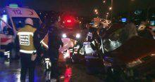 Ankara'da feci kaza 4 kişi hayatını kaybetti