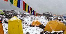 Everest'teki çığ faciası kamerada !