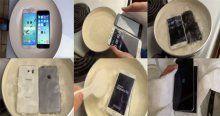Galaxy S6 ve iPhone 6'yı kaynattılar