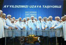 Türkiye'nin ilk uydu merkezi açıldı