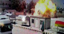 IŞİD'in intihar saldırısı böyle görüntülendi