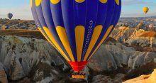 Kapadokya'da balon kazası, çok sayıda yaralı var!