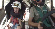 5 yaşındaki çocuğun korku dolu anları rekor kırıyor