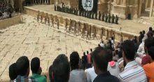 IŞİD antik tiyatroda katliamı izlettirdi