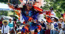 New Yorklu Kızılderililer ''Pow Wow'' festivalinde buluştu