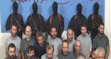 Bağdat'ta kaçırılan Türk işçilerin ilk görüntüleri