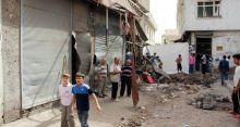 Diyarbakır'ın Sur ilçesi savaş alanına döndü