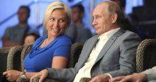 Rus kadın boksör Putin'i nakavt etti!