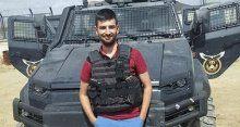 Şehit polis memuru Serkan Çölkesin 2 aylık polisti