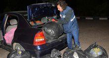 Avukatın kullandığı araçta 150 kilo esrar çıktı
