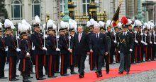 Belçika'ya 177 yıl sonra ilk resmi ziyaret!
