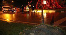 Bursa'da yoğun yağış ve şiddetli rüzgar