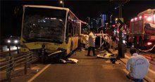 Metrobüs ile otomobil kafa kafaya çarpıştı! 5 ölü, 5 yaralı!