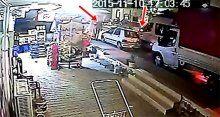 4 yaşındaki Çınar'ın kaçırılma anı kamerada!