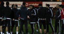 Beşiktaş Skenderbeu maçı hazırlıklarını tamamladı