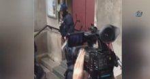 Fransız polisinden kiliseye baskın!