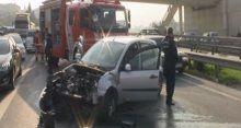 İstanbul trafiğini felç eden kaza!