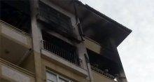 Şarj cihazı koca binayı yaktı!