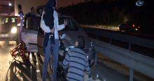 TEM'de zincirleme trafik kazası, 6 yaralı