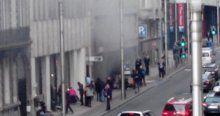 Brüksel'de bir patlama daha!