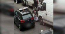 Paris saldırganının ele geçirilme görüntüleri yayınlandı