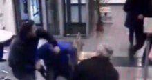Postane soygununu izinli polis önledi