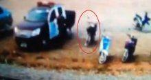Bombalı motosiklet saniyeler sonra patladı, 2 ölü