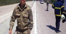 Manisa'da patlama, 1 asker yaralı