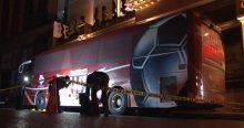 Bandırmaspor'a ait takım otobüsü kurşulandı