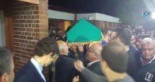 İbrahim Bodur'un cenazesini binlerce vatandaş karşıladı