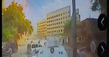 İşte Gaziantep'teki bombalı aracın patlama anı!
