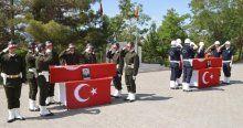 Şehitler için Şırnak'ta tören düzenlendi