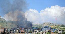 Şırnak'ta teröristler dar alana sıkıştırıldı