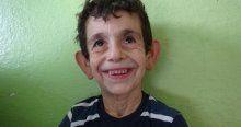 Suriyeli çocuk hayaline kavuştu