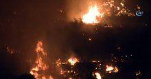 Alevler Bodrum'u sardı