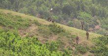 Karaağaç kırsalında hava destekli operasyon başladı