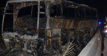 Manisa-Balıkesir yolunda feci kaza, 1 ölü, 11 yaralı