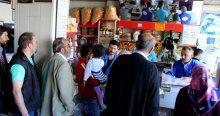 Ramazanın ilk gününde kadayıf üreticileri doldu taştı