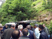 Giresun'da komutanların içinde bulunduğu helikopter düştü!
