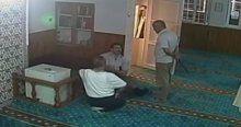 Sela okuyan cami görevlisini yaralayan alçak yakalandı
