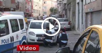 Devriye yapan polislere saldırı: 1 yaralı